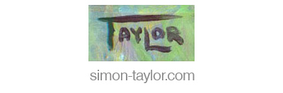 Simon Taylor, Portrait Painter