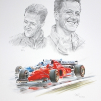 Motor Racing Art by Simon Taylor